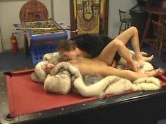 FurSluts - Michelle and Ross - Pool Table Fuck