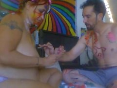 Some More body painting