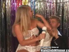 Brynn Tyler and Tanners Mayes Handjob Sperm Swap