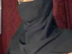 Beautiful Arab nude web show