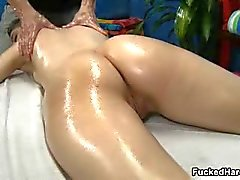 Cute brunette babe gets her wet pussy part2