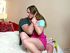 Brother Caught Step-Sister and Creampie her