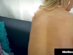 Penthouse Pet Nikki Benz Gets Wet Pussy Stuffed By Hard Cock