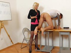 Mature Teacher Handjob Blowjob Long Red Nails