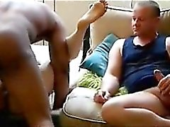 Wife fucked and husband watch