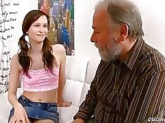 Jenya adores the attention she gets from this dirty old man He ends up fucking this young babe