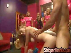 Swinger Bachelorette Fucks Stripper