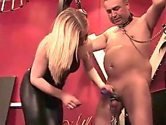 British femdom milfs cbt for useless old guy
