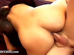 Biker Bitch Carman Rides Some Cock