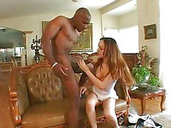 Mandingo's monster cock nails her hard