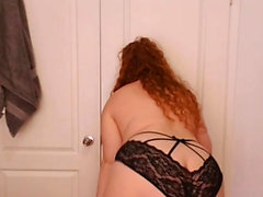 Big booty redhead chubby fat ass milf bbw