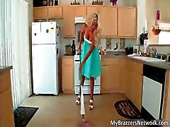 Slutty horny blonde MILF Puma Swede