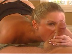 Sexy Flower Tucci blowjob