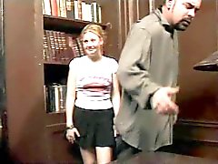 The Headmaster Puts It To Hairy Redhead Student Cherry
