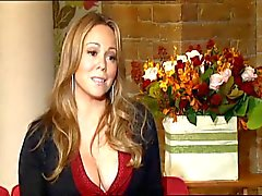 Mariah Interview Cleavage