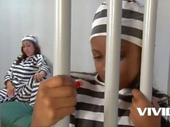 2 jailed bitches decide to explore each other for some fun