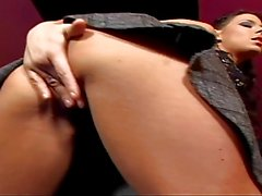 Sexy mature brunette gets her ass fucked