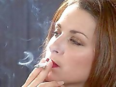 caren smoking
