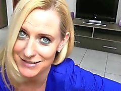 German great arsed milf sucks & fucks!