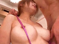 Submissive Japanese Babe Giving Head