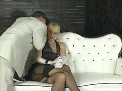 Monicamilf in a classic 30's porn vid from Norway - Pay for your pussy