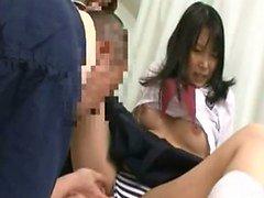 Subtitle Japanese schoolgirl indecent hospital foreplay