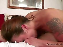 Desperate amateurs casting nervous first time money trouble