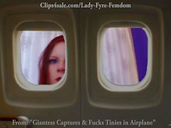 Giantess Fucks the President's Airplane by Lady Fyre