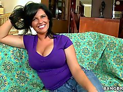 MILF Lachasse with huge pierced natural tits