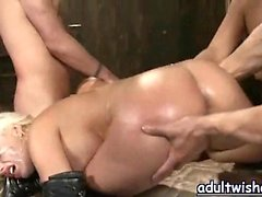 Lascive babes having sex in group orgy
