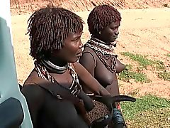 africa woman show tits