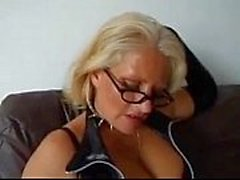 mature in leather fucks guy and sucks cock and gets a mouthful