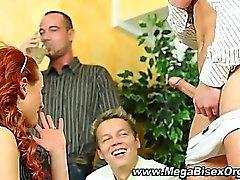 biseksuaali Orgie
