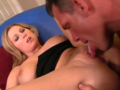 Devon enjoys riding a long cock
