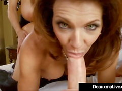 Texas Cougar Deauxma folla y chupa Kelly Madison y mi esposo!