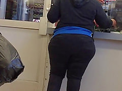 Butts in dark jeans spandex leggings valuable arse compilatio
