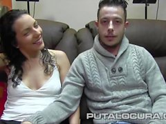 PUTA LOCURA Amateur teen couple on tape
