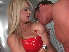 Vicky Vette with Cheyne Collins