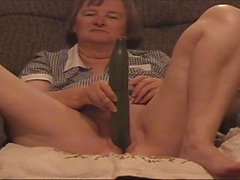 Jan with cucumber