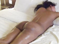 desi wife massage session in hotel