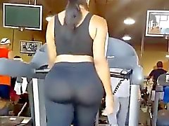 Big ass on treadmill