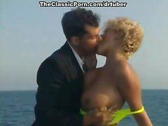 Sharon Mitchell, Jay Pierce, Marco in classic xxx video
