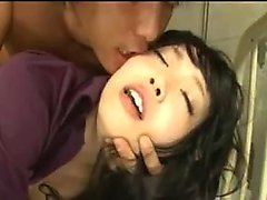 Beautiful Asian babe lets this hunky dude penetrate her tig