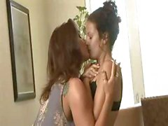 Hot milf fucks her tight girlfriend
