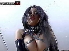 Strapon slut trainer with femdom Mistress Tangent