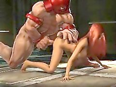 Juggernut Plows Jean Grey - Incredibile 3D clips anime xxx