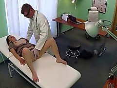 Teen Edita sucks and fucks in the clinic