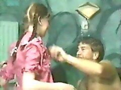 Alde. Young uninhibited Pigtails teen girl really enjoy sexual sensations