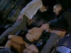 Babe Banged By 4 Lucky Dudes