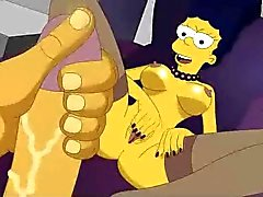 Simpsons porno fatti in casa quartetto dell'orgia dalla Scooby Doo